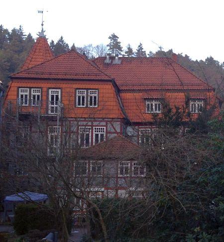 Waldschlösschen Innenhof